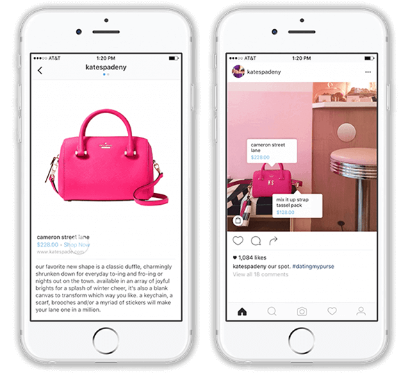 Annonces shoppable image - ORIXA MEDIA