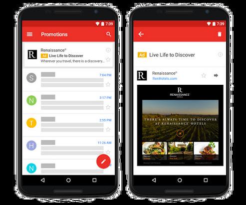 Gmail Native Ads - ORIXA MEDIA
