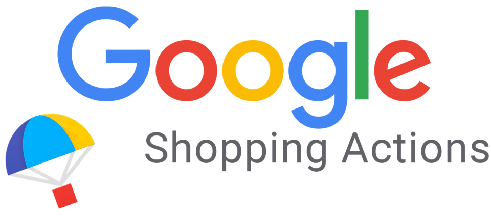logo google shopping actions
