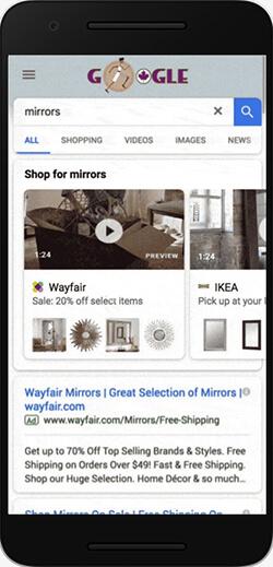 Mobile Annonce Showcase