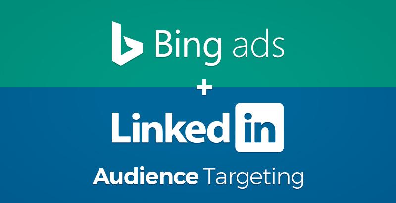 Logo LinkedIn & Bing Ads