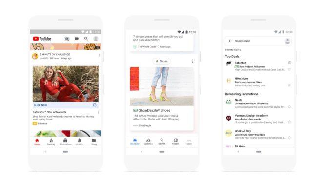 Google Discover demonstration