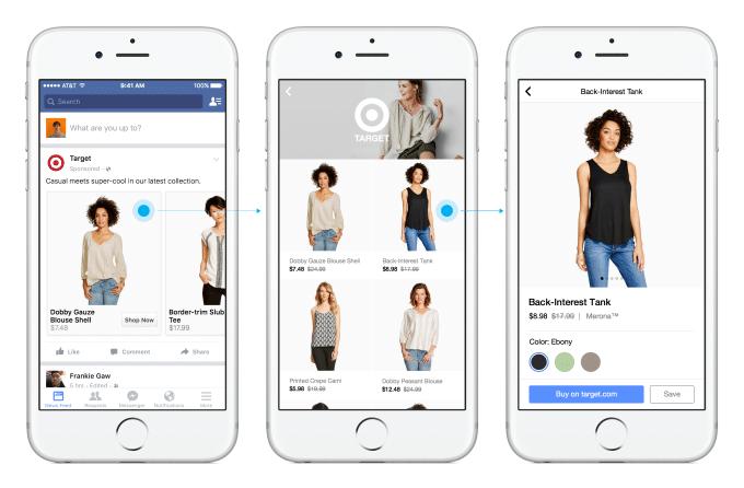 Social Shopping Facebook