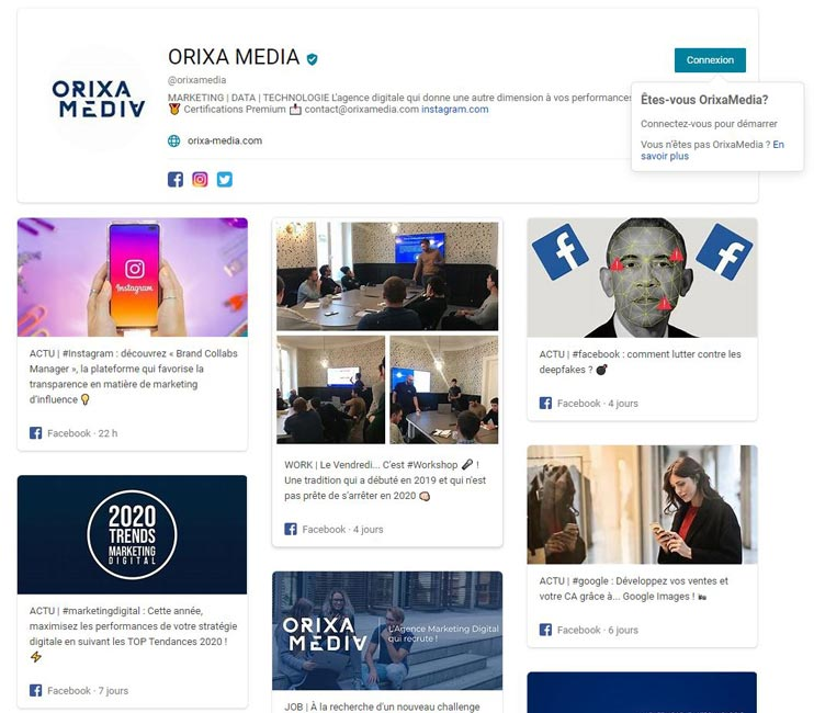Bing Pages Orixa Media