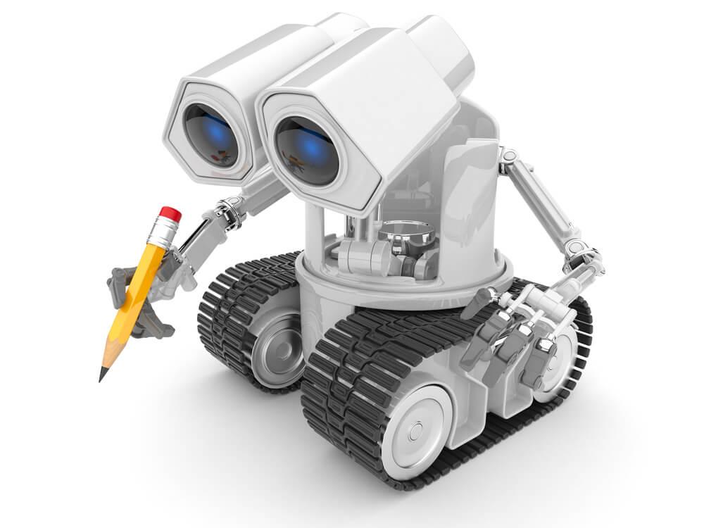 robot représentant Googlebot