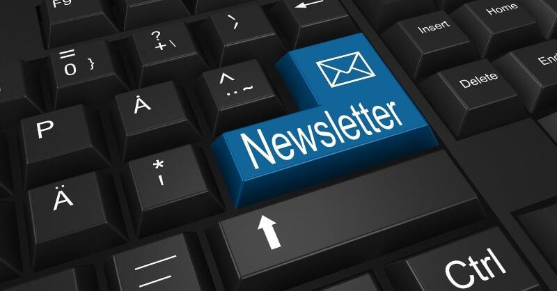 bouton newsletter automation